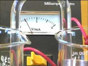A ponte salina é usada em pilhas eletroquímicas