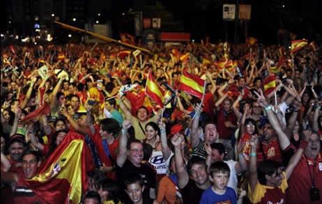 A população da Espanha é uma das maiores do continente europeu
