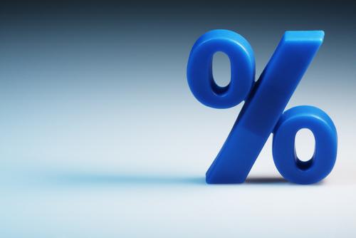 A porcentagem é uma razão centesimal e é representada pelo símbolo % (por cento).