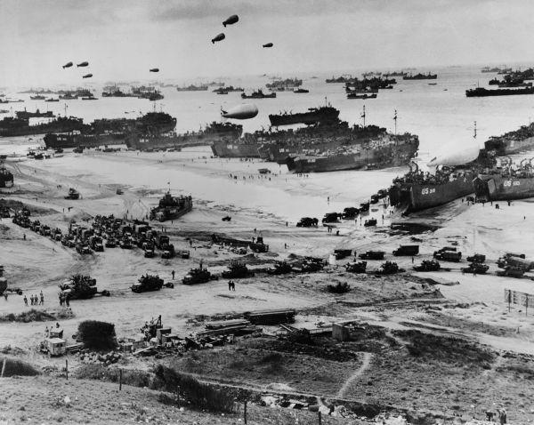 A praia de Omaha foi uma das cinco praias em que os Aliados desembarcaram tropas durante o Dia D.