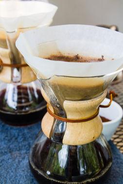 A preparação do café é um exemplo cotidiano de um processo de filtração