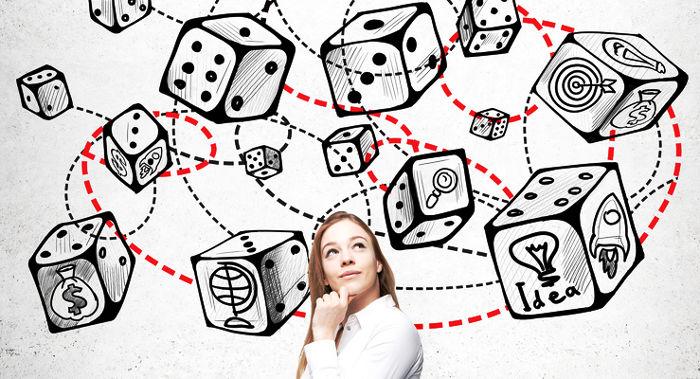 A probabilidade é conceito presente nos jogos com dados