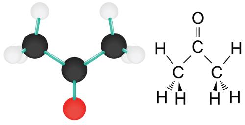 A propanona (acetona) pode ser obtida a partir da oxidação de um álcool secundário