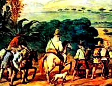 A riqueza da atividade mineradora impulsionou o conflito entre bandeirantes e emboabas.