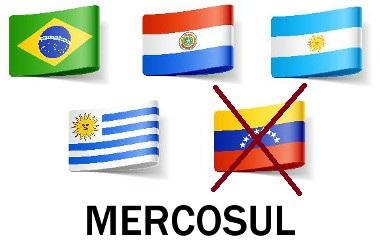 A suspensão da Venezuela do Mercosul ocorreu em dezembro de 2016*