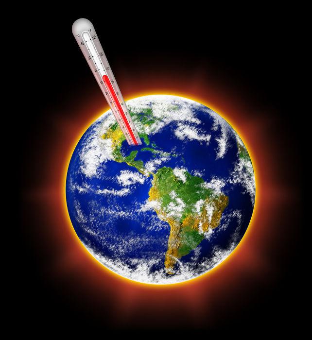 A teoria do Aquecimento Global afirma que as temperaturas da Terra estão aumentando