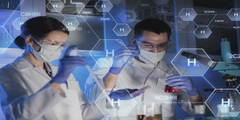 A titulação é um método realizado em laboratório.