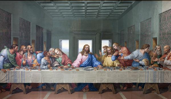 A última ceia é uma das obras mais importantes de Leonardo da Vinci*