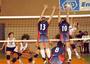 Voleibol - O resultado da mescla do tênis com o basquete