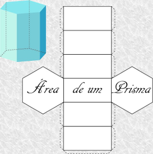 Todo prisma pode ser planificado para que possamos visualizá-lo e verificar o espaço ocupado por ele