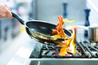Cozinhar, é um exemplo de uma reação endotérmica