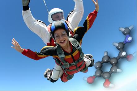 A adrenalina é um hormônio que possui dois enantiômeros
