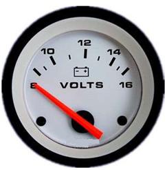 Voltímetro digital: apesar de mostrar apenas a diferença de potencial, ele pode ajudar também na descoberta do potencial absoluto de cada eletrodo