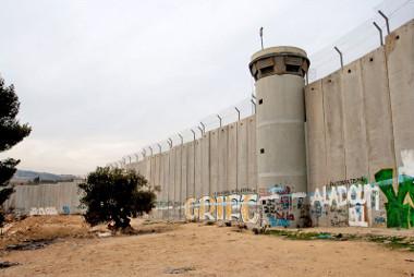 Muro da Cisjordânia: tentativa de Israel de impor um limite em uma zona de fronteira na Palestina