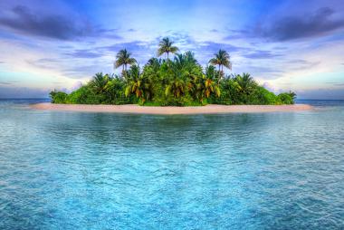 As ilhas são classificadas em diferentes tipos conforme as suas formações