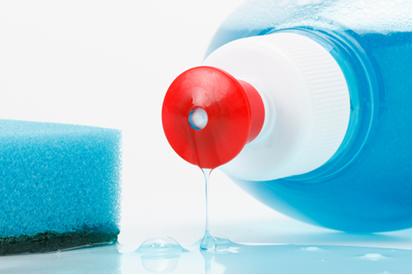 Muitos detergentes sintéticos contêm sais derivados dos ácidos sulfônicos