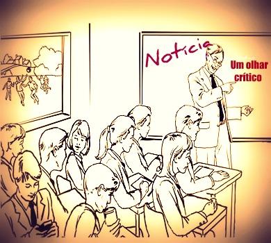 Desenvolvendo um olhar crítico sobre a notícia: tal habilidade é conquistada mediante a análise dos aspectos discursivos que a compõem