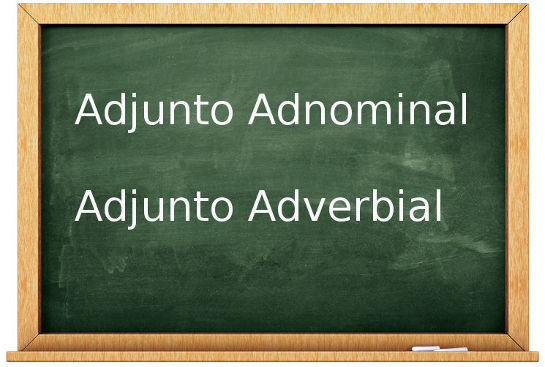 Adjunto Adnominal e Adjunto Adverbial: Definições
