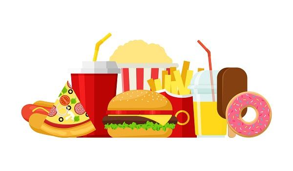 Alimentos do tipo fast-food podem desencadear divernos danos à saúde