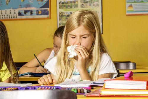 Aluno com gripe não deve comparecer à escola