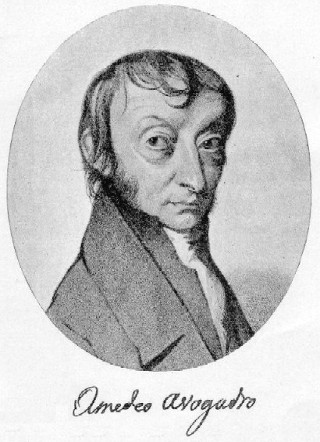 Amedeo Avogadro (1776-1856)