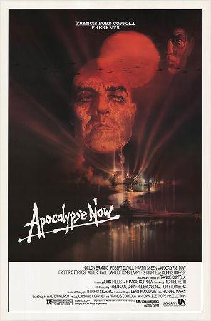 """""""Apocalypse Now"""", filme de Francis F. Coppola. Produtora: Zoetrope Studios, 1979"""