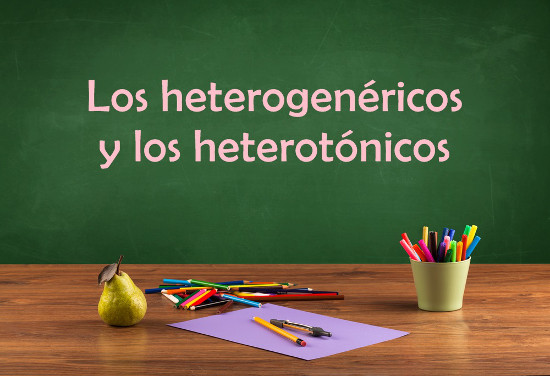 Aprenda os heterogenéricos e heterotônicos em espanhol!