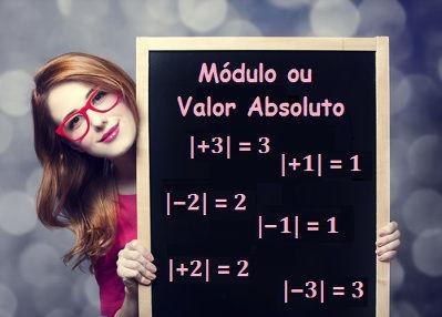 Aprenda sobre o módulo ou valor absoluto dos inteiros