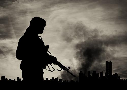 As ações terroristas voltam-se principalmente contra a população civil