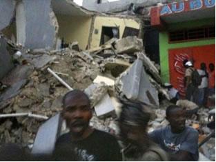 As consequências do terremoto no Haiti