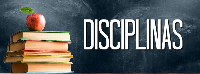 As disciplinas são usadas para separar o conhecimento humano em áreas, tornando seu estudo mais compreensível.