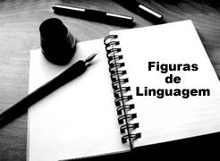 As figuras de linguagem são divididas em: figuras de som, figuras de construção, figuras de pensamento e figuras de palavras.