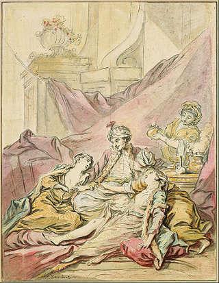 As mulheres de um harém estavam submetidas às vontades do sultão