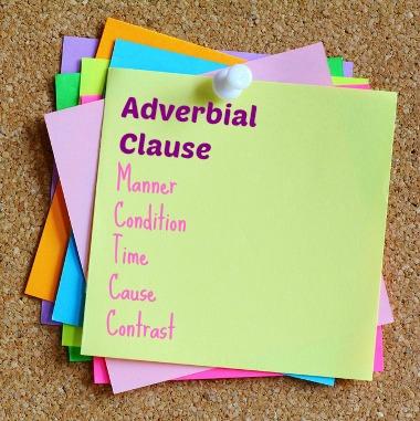 As orações adverbiais têm função de advérbio e normalmente são introduzidas por conjunções