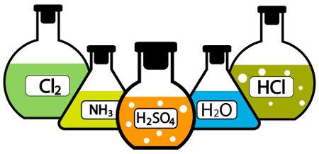 As substâncias inorgânicas são o foco de estudo da Química Inorgânica