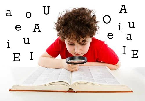 As vogais A, E, I, O, U são o núcleo das sílabas da Língua Portuguesa