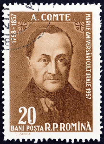 """Considerado o """"pai"""" da sociologia e fundador do método positivista, Comte é um dos pensadores de maior influência da França no século XIX.*"""