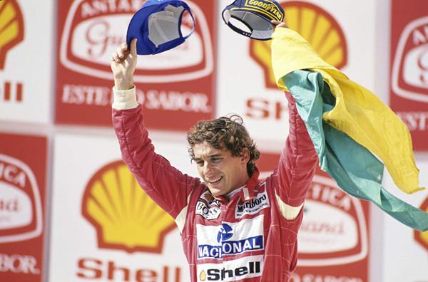 Senna é tricampeão de F1 pela McLaren / Crédito: Norio Koike © ASE