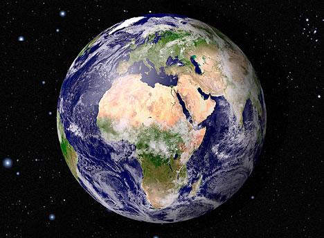 A Terra é o nosso grande ecossistema.