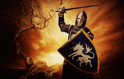 Durante a Primeira Cruzada (1096-1099), os cavaleiros medievais conseguiram reconquistar Jerusalém