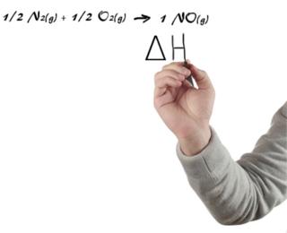 O dado principal fornecido pelas equações termoquímicas é a variação da entalpia (∆H)