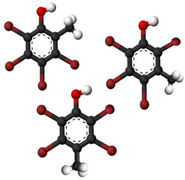 O cresol possui três isômeros que se diferenciam pela posição da ramificação metil