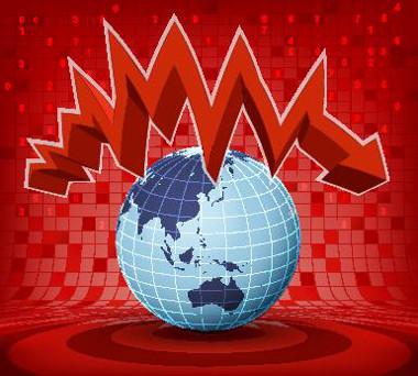 O processo de globalização pode apresentar altos e baixos