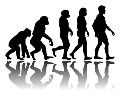A história do homem seguiu um caminho linear e progressivo segundo a Teoria Evolucionista da Humanidade