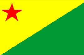 Bandeira do Acre.