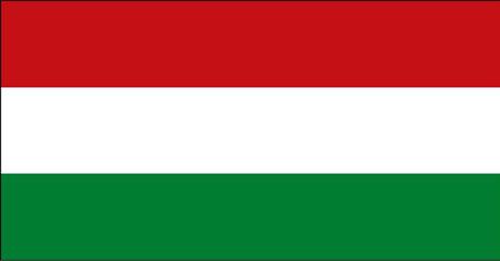 Bandeira da Hungria.