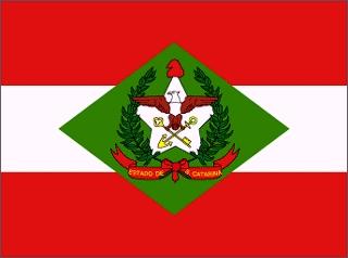 Bandeira de Santa Catarina