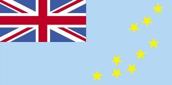 Bandeira de Tuvalu.