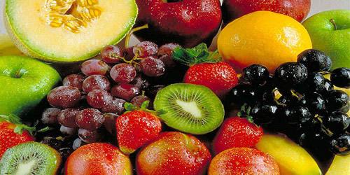 Frutas são uma fonte de sais minerais para nosso organismo.