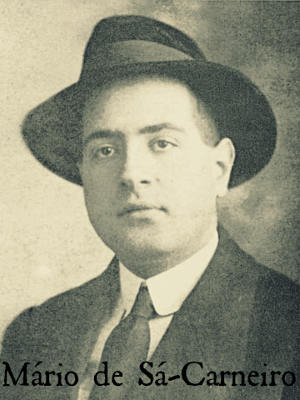 Mário de Sá-Carneiro nasceu em Lisboa, no dia 19 de maio de 1890, e faleceu em Nice, França, em 26 de abril de 1926